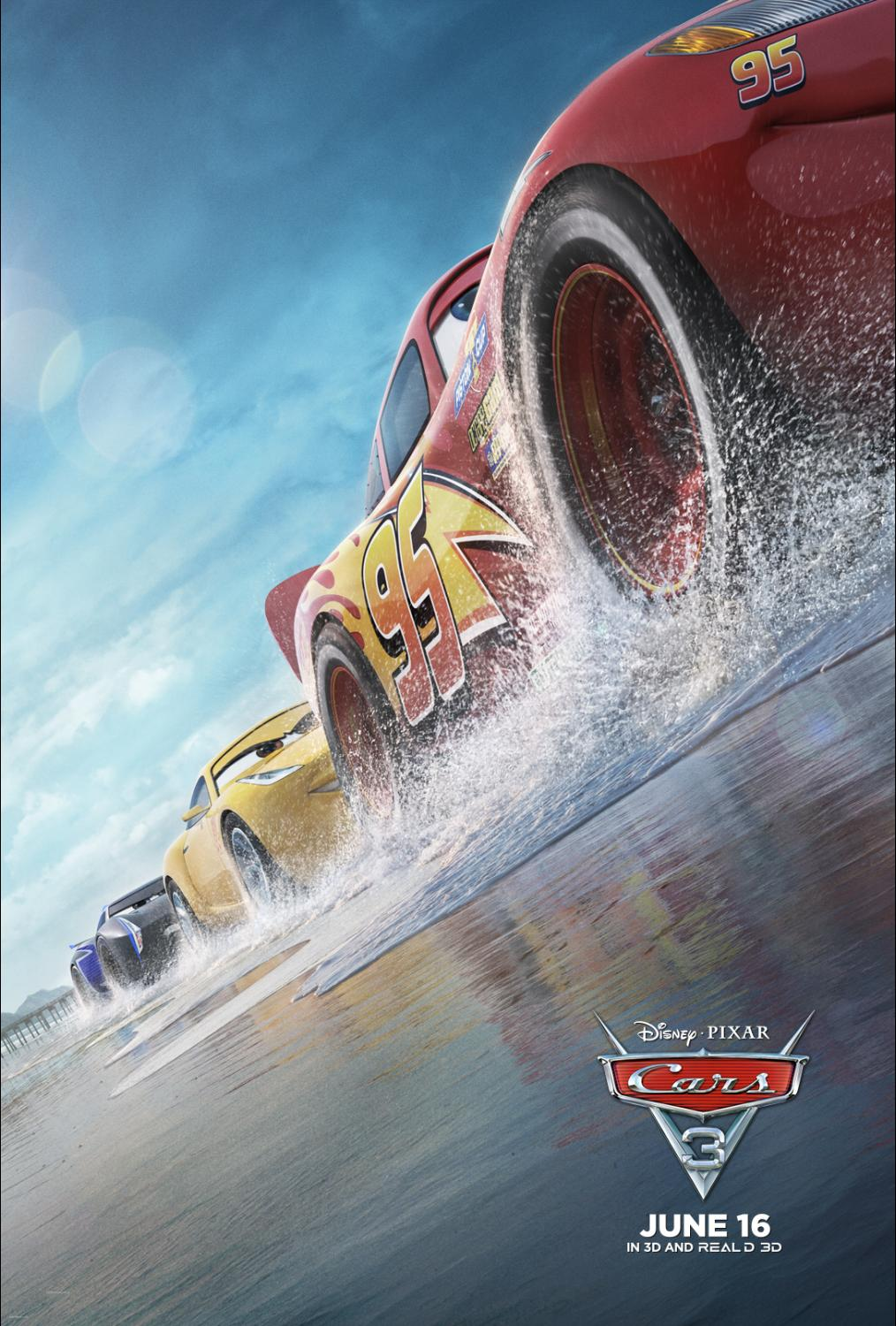 Make sure to Race to Theaters on Friday and see Cars