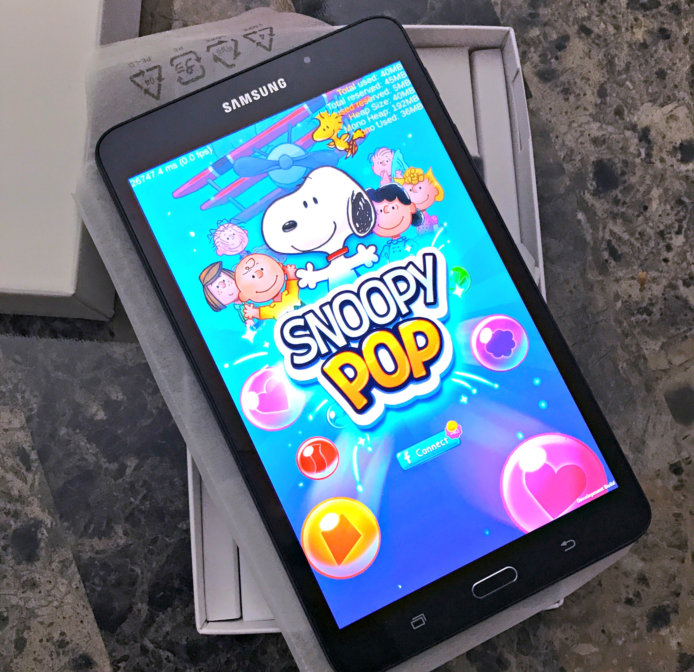 GIVEAWAY - Samsung Galaxy Tablet preloaded w/Snoopy Pop ends 7/19