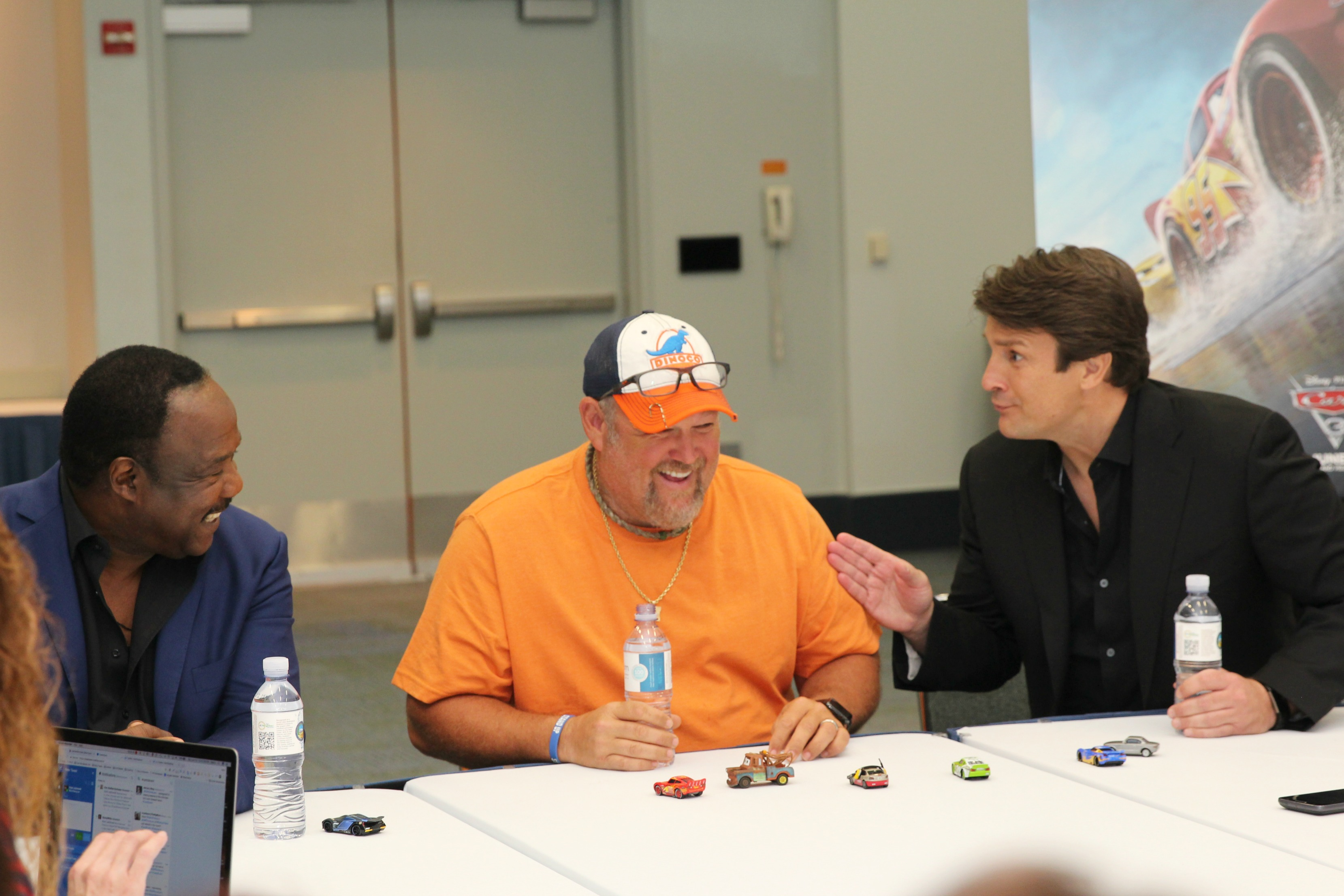 Chatting with the Cast of Cars 3
