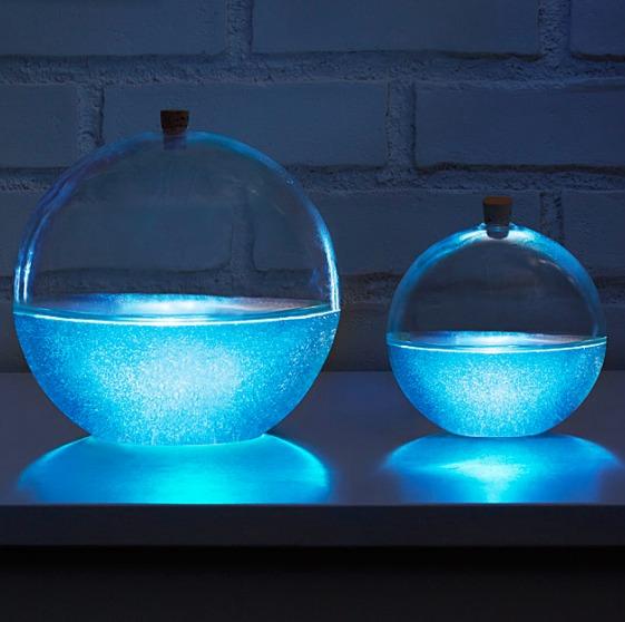 Uncommon awesomeness at uncommongoods - Bioluminescent aquarium ...