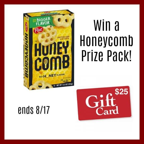 Honeycomb Prize Pack Giveaway