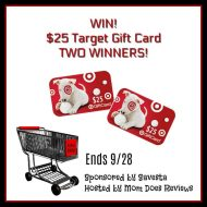 $25 Target Gift Card Giveaway – Two Winners!