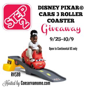Step2 Disney Pixar Cars 3 Roller Coaster Giveaway