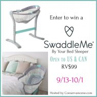 SwaddleMe By Your Bed Sleeper Giveaway