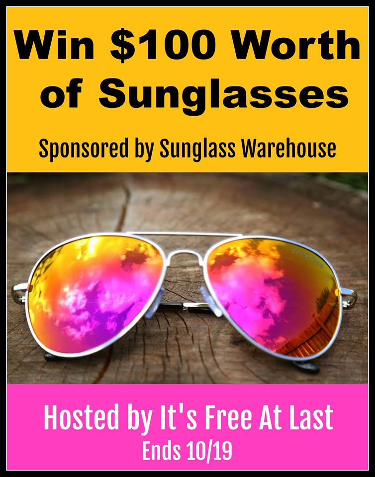 Sunglass Warehouse Giveaway