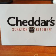 Win a $100 Cheddar's Gift Card