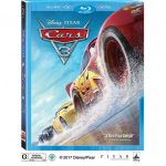 Cars 3 on Bluray and DVD Now