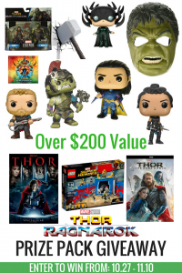 Thor: Ragnarok Prize Pack Giveaway