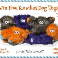 Rowdies Dog Toys Giveaway