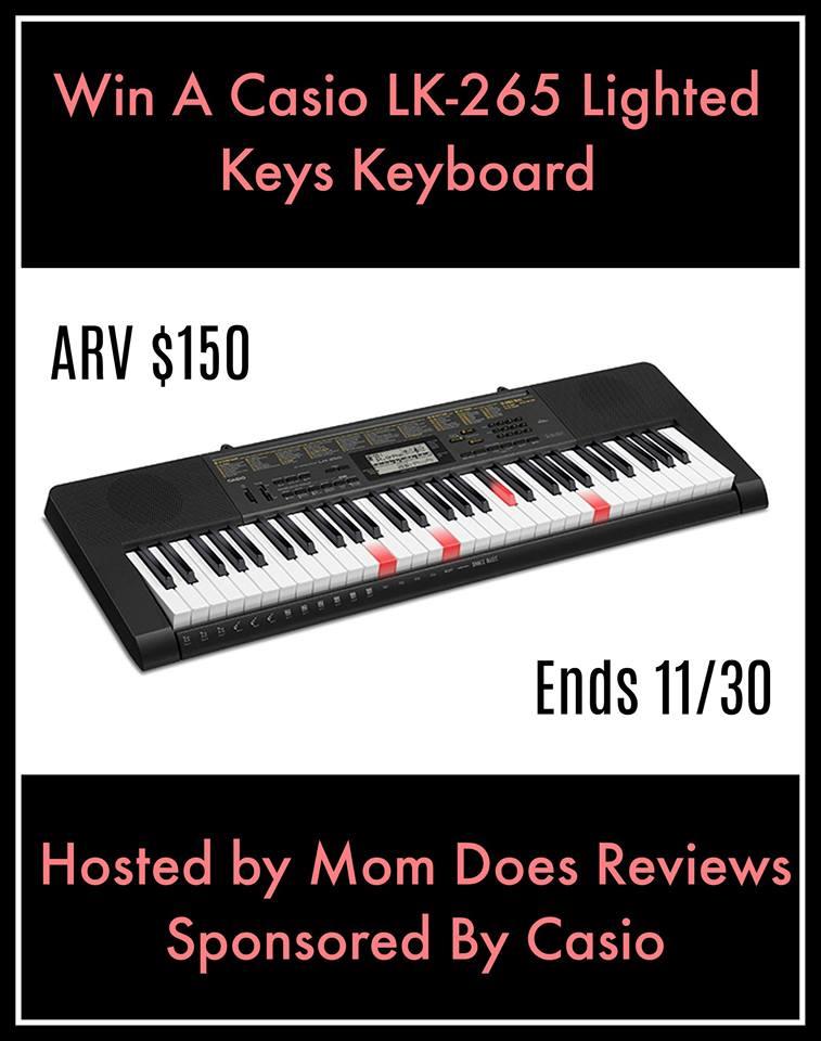 Casio LK-265 Lighted Keys Keyboard Giveaway