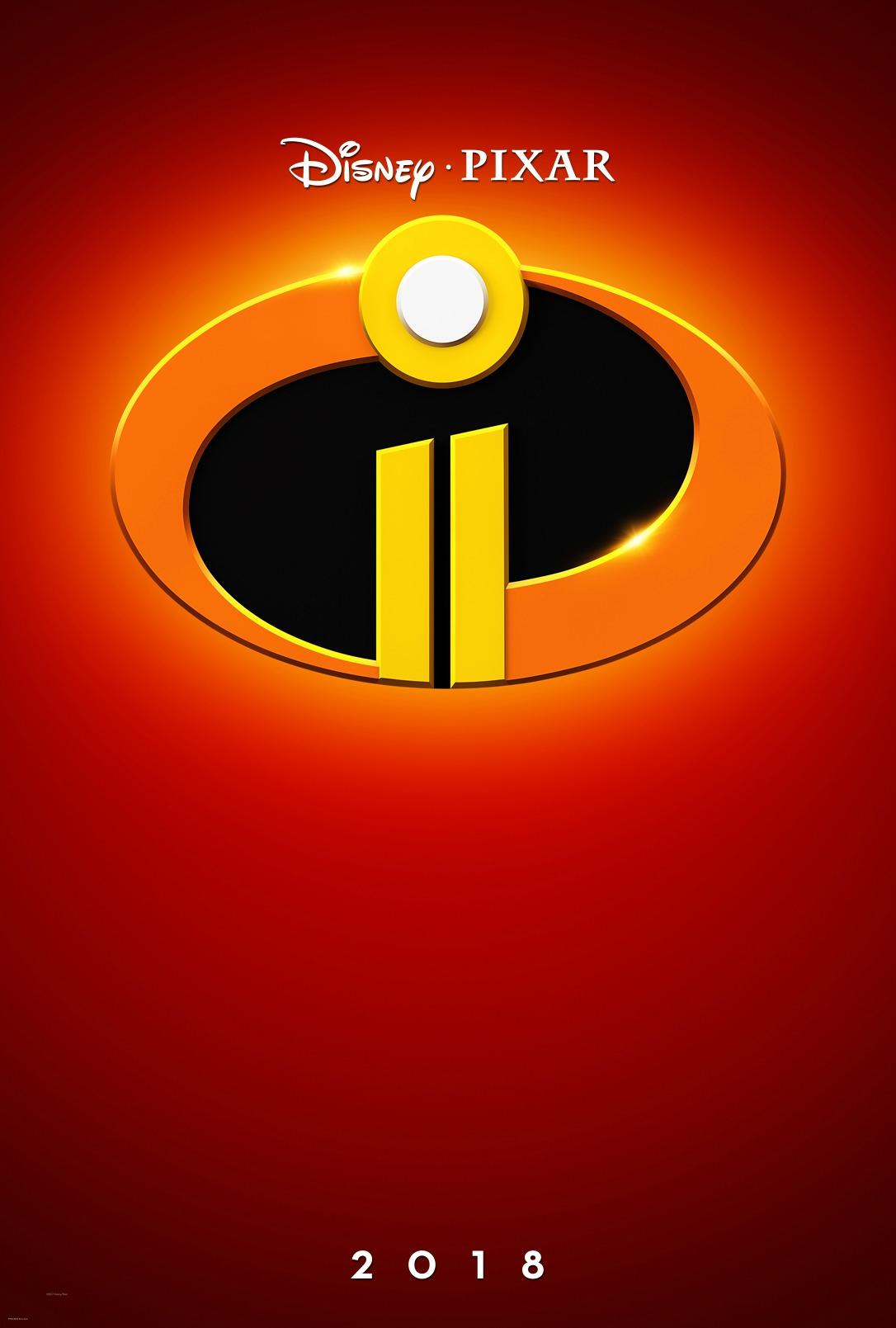 Disney•Pixar's INCREDIBLES 2 - New Teaser Trailer & Poster