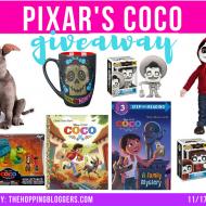 Pixar's Coco Giveaway