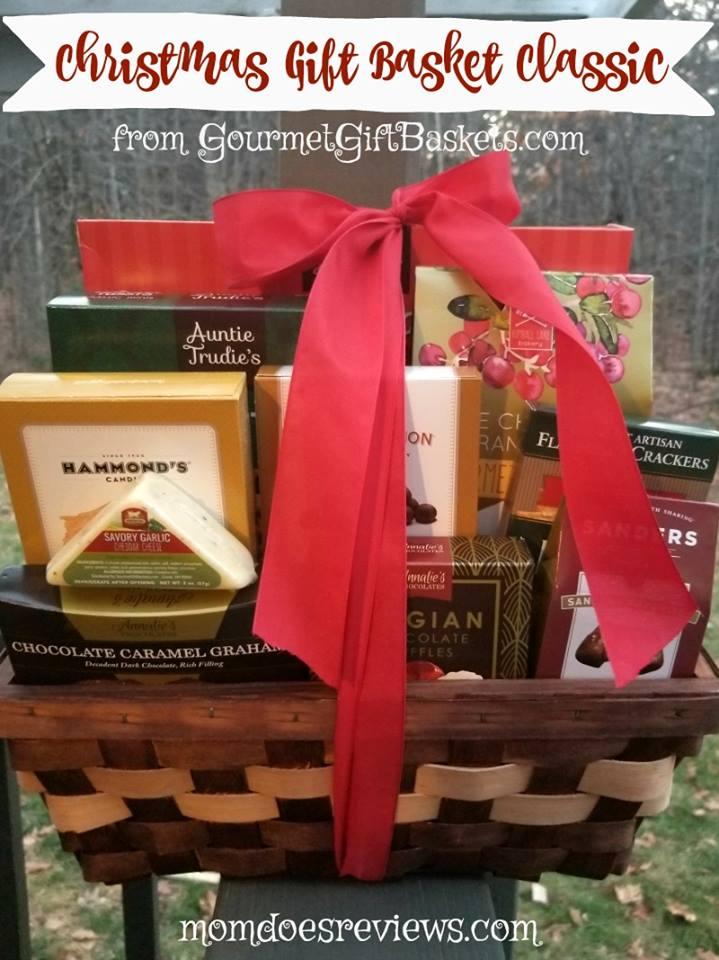 Christmas Gift Basket Giveaway