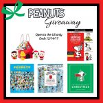 Win a Christmas Peanuts Prize Pack