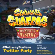 You're Invited to the #SubwaySurfers Twitter Party