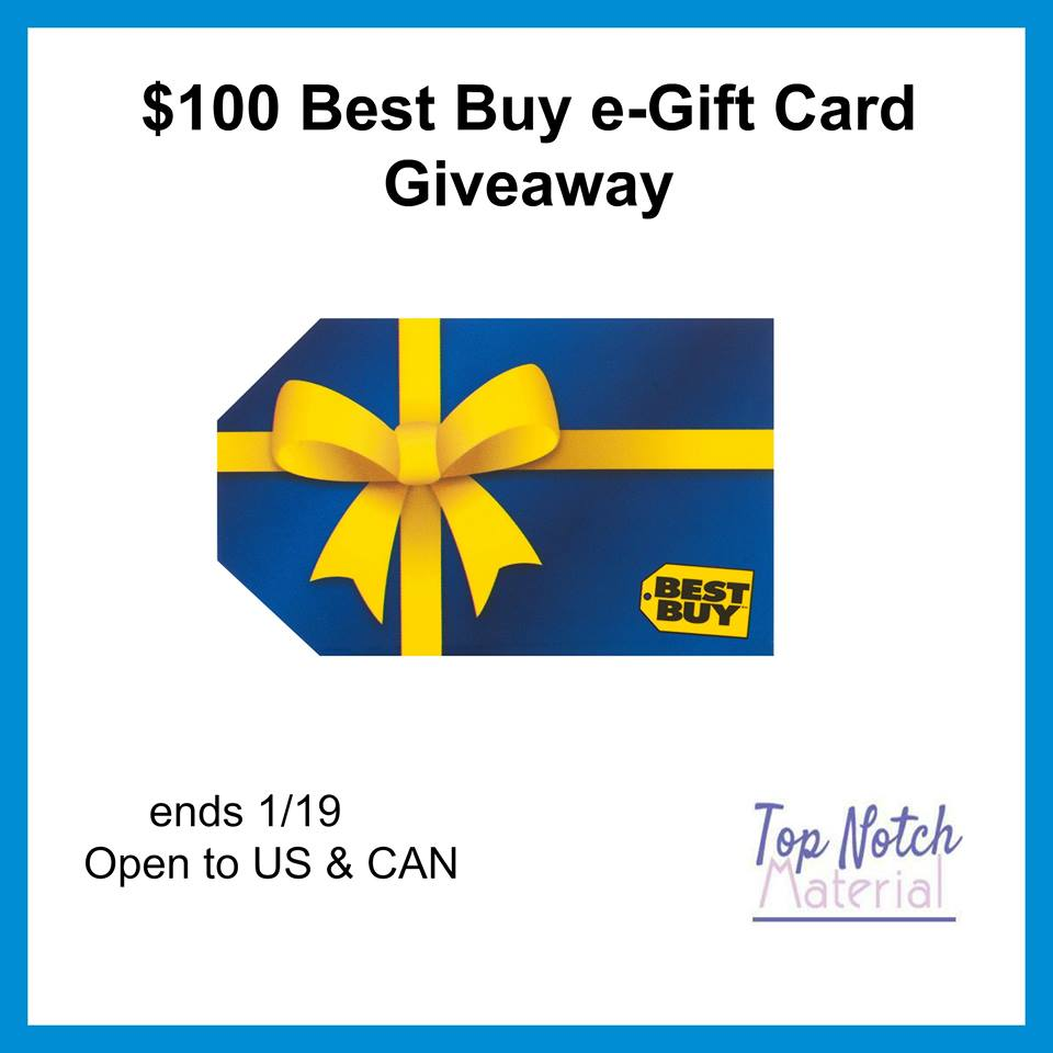 $100 Best Buy Gift Card Giveaway