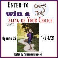 Comfy Joey Ring Sling Giveaway