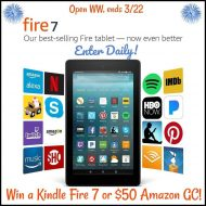 Kindle Fire HD 7 Tablet Giveaway