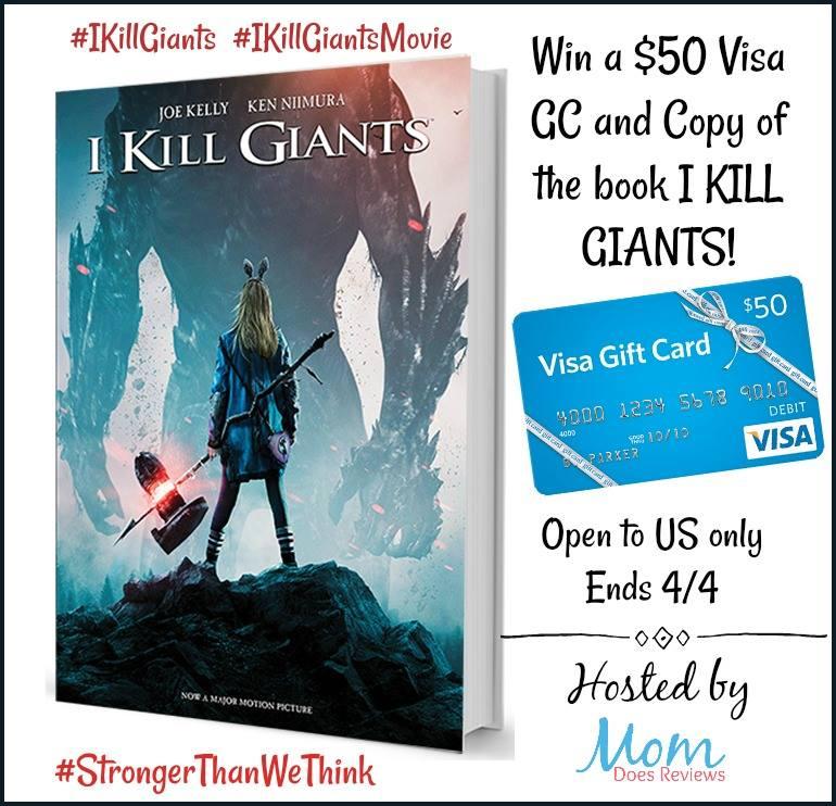 I Kill Giants Giveaway