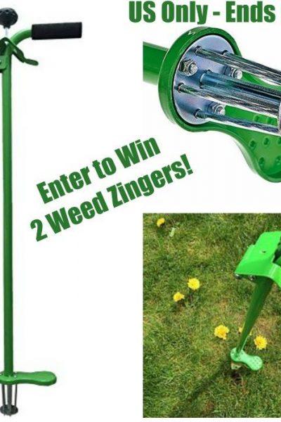 Weed Zinger Giveaway