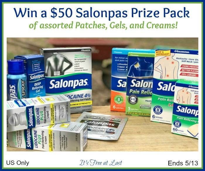 Salonpas Prize Pack Giveaway