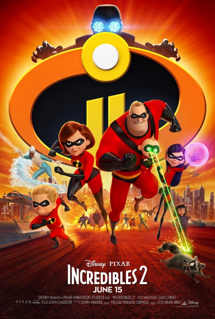 Disney•Pixar's INCREDIBLES 2 - New Trailer & Poster Now Available
