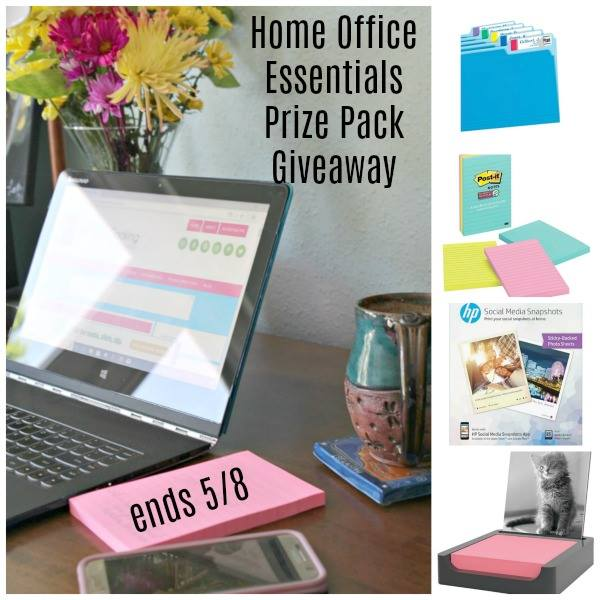 Home Office Essentials Prize Pack Giveaway