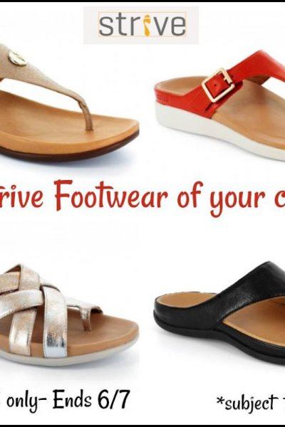 Strive Footwear Giveaway