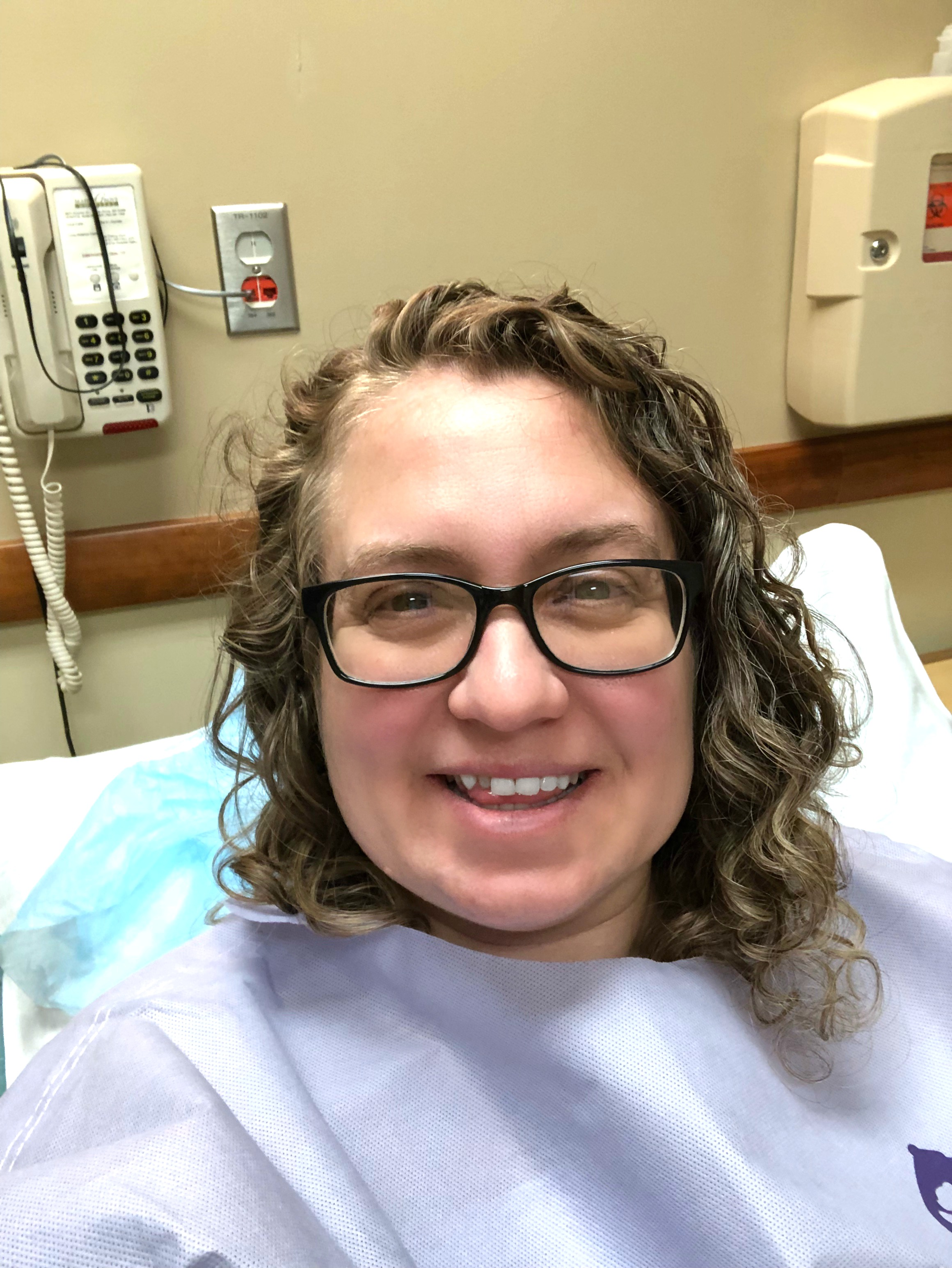 Deep Excision and Hysterectomy Surgery Day -  Surgery Day was here and I was so nervous. The staff was great and I'm now resting and healing.