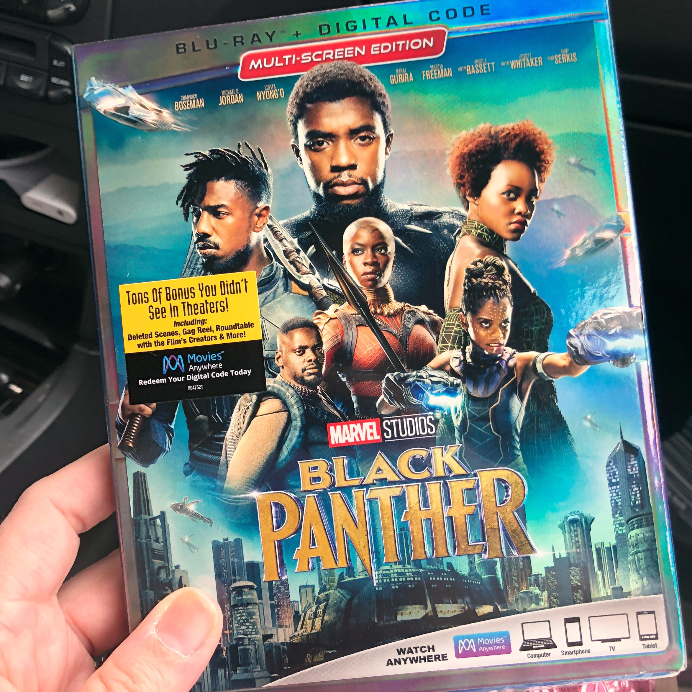 Black Panther Available on Blu-ray and 4K TODAY