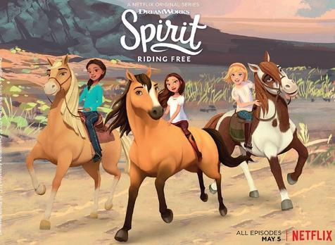 Spirit Riding Free Giveaway