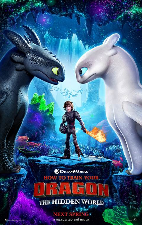 HOW TO TRAIN YOUR DRAGON: THE HIDDEN WORLD | First Poster