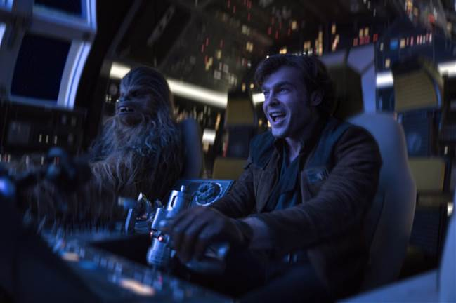SOLO: A STAR WARS STORY - Now Playing in Theatres Everywhere