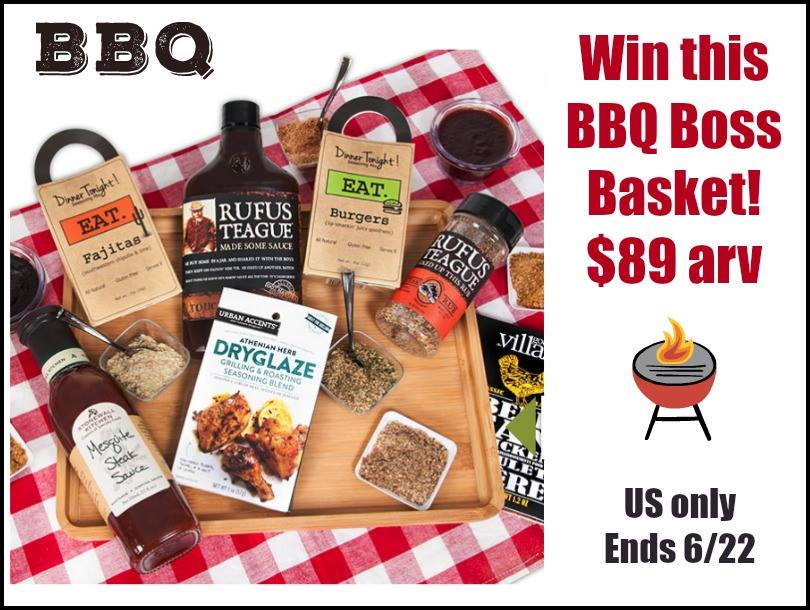 BBQ Gift Basket Giveaway
