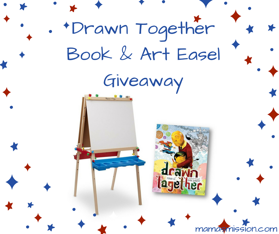 Drawn Together & Art Easel Giveaway