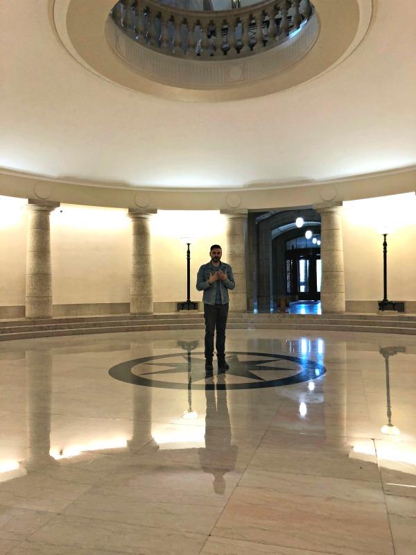 Hermetic Code Tour with Dr. Frank Albo: Hermetic Code Tour of the Manitoba Legislative Building