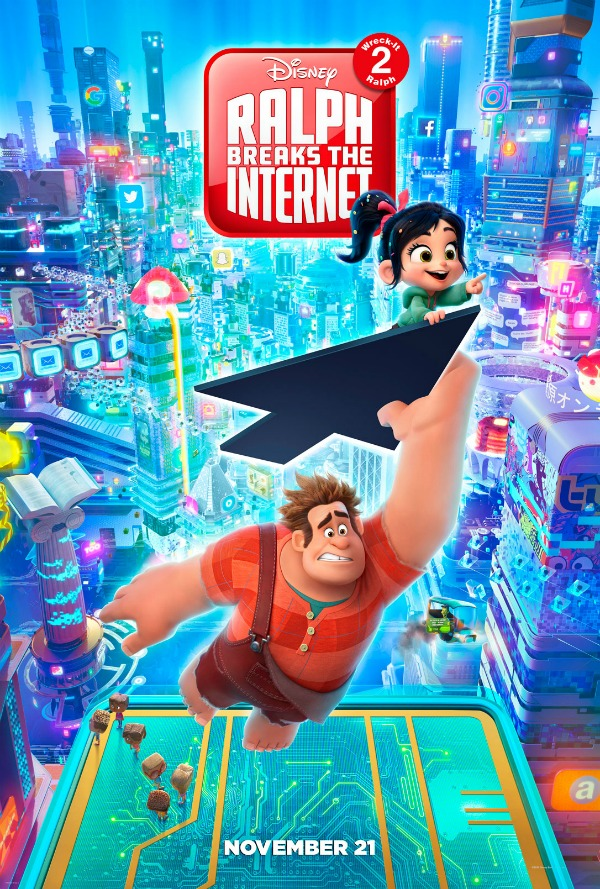 RALPH BREAKS THE INTERNET: WRECK-IT RALPH 2 New Poster & Trailer