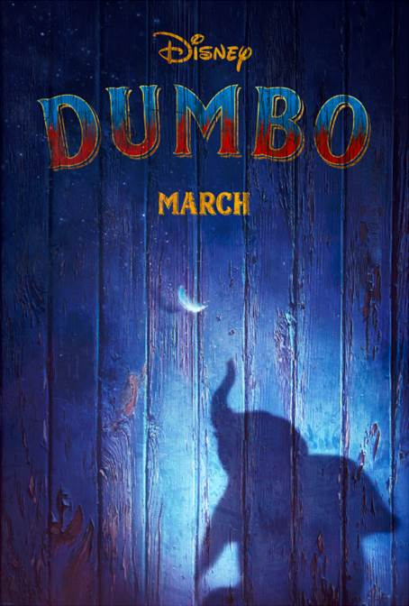 Live-Action DUMBO - New Teaser Trailer & Poster Now Available