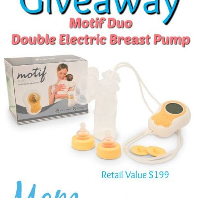 Motif Duo Double Electric Breast Pump Giveaway