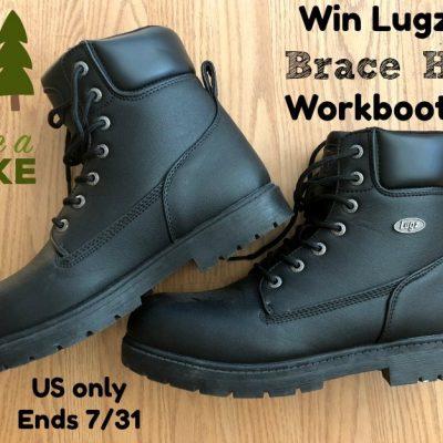 Lugz Brace Hi Workboots Giveaway