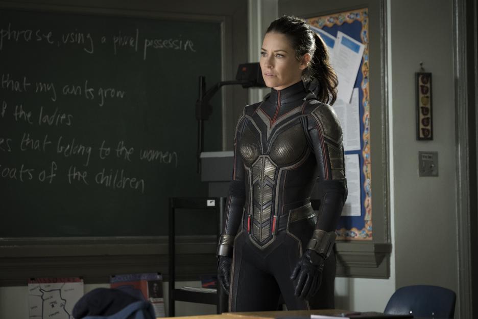 Newest Superhero Evangeline Lilly