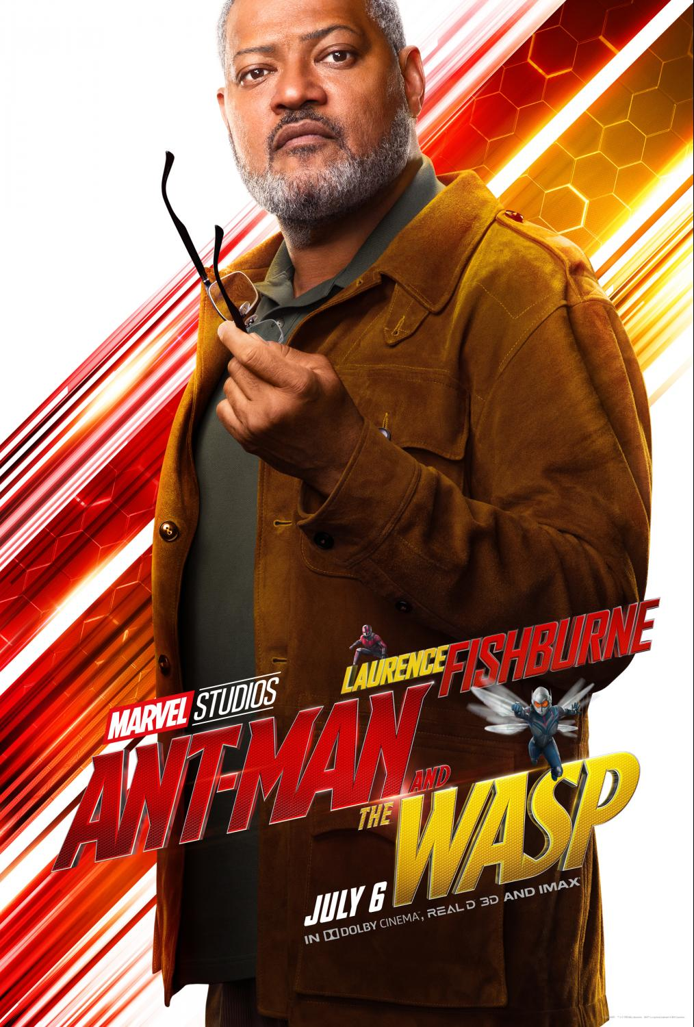 Talking with Laurence Fishburne about The Ant-Man and the Wasp - We discussed his character of Dr Bill Foster in the movie.