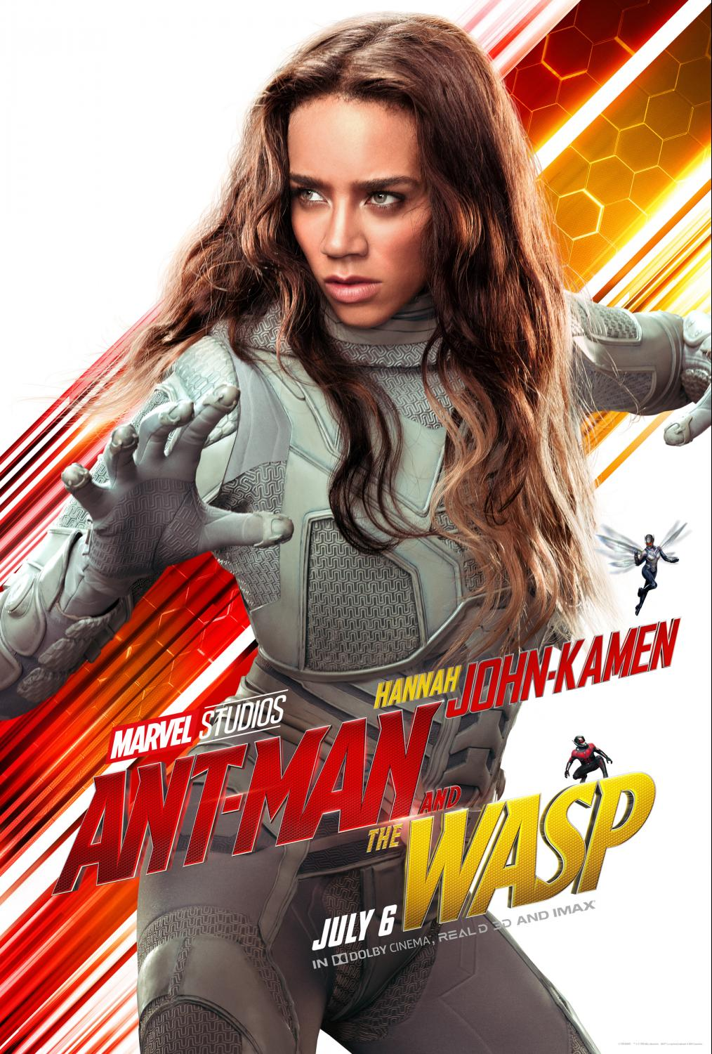 Talking with Hannah John-Kamen about Ant-Man and the Wasp - We talked joining the Marvel Universe Family, girl power, and more.