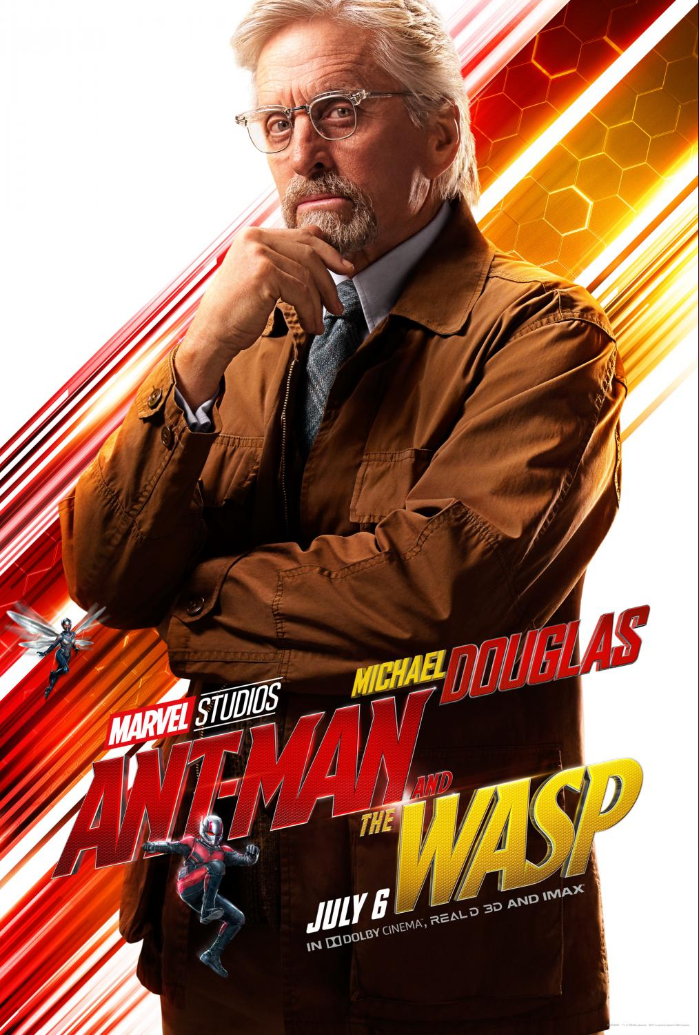 Michael Douglas talks Ant-Man and The Wasp - He's back as Dr Hank Pym. We talk about the film and more. Ant-Man and the Wasp is in theaters now.