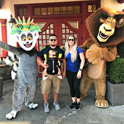 Doing Universal Studios Hollywood with a Baby
