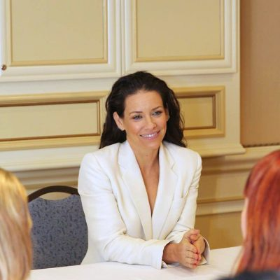 Talking with the Newest Superhero Evangeline Lilly