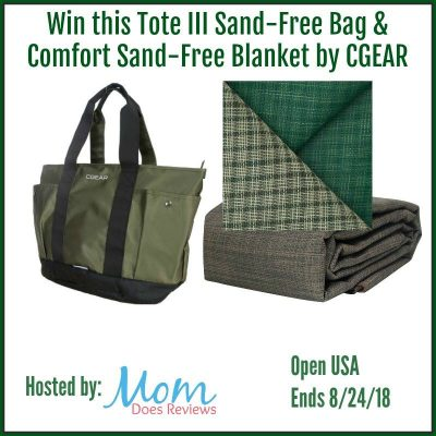 Tote III Sand-Free Bag & Comfort Sand-Free Blanket by CGEAR