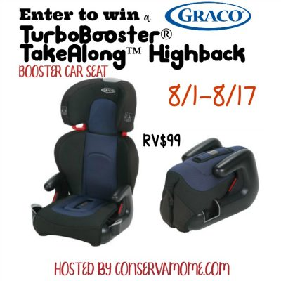 TurboBooster® TakeAlong™ Highback Booster Car Seat
