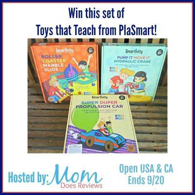 PlaSmart Smartivity Game Giveaway