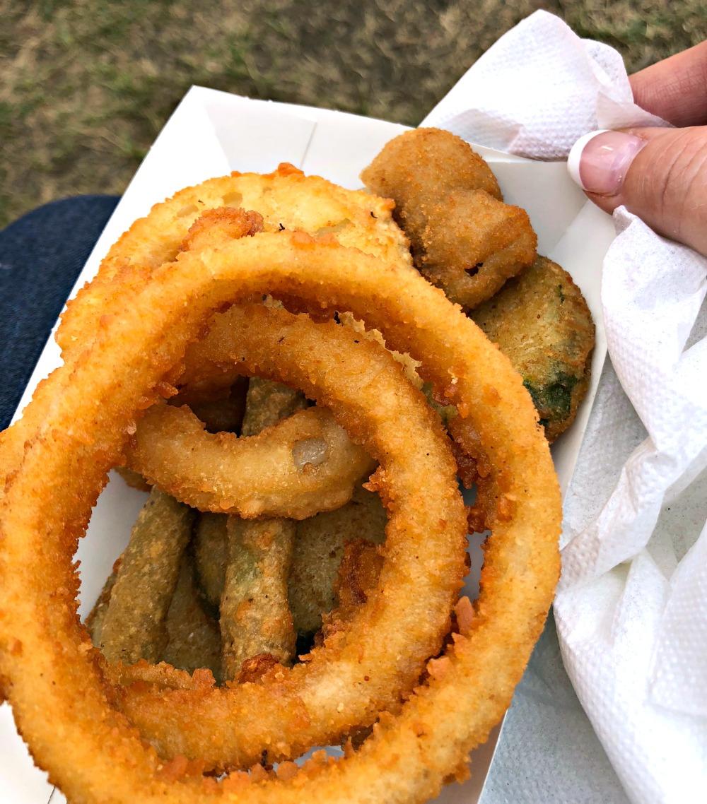 Vegetarian Fair Food at the Iowa State Fair